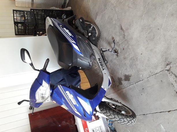 Продам скутер б/у YIBEN на Всебратском-2.