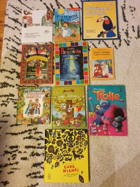 Książki dla dzieci Trolle wierszyki Kto Ty jesteś baśnie