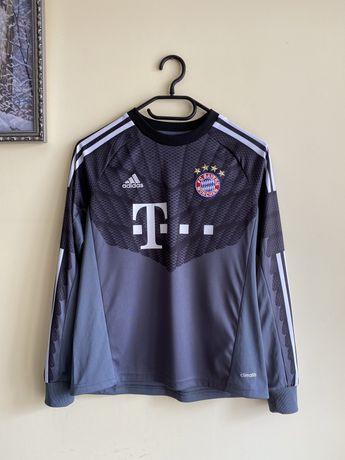 Футбольний реглан, лонгслів FC Bayern Munchen Adidas на 10-12 р.