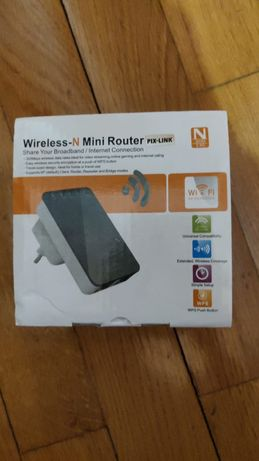 Extensor / Repetidor de Sinal Wireless - N Mini Router
