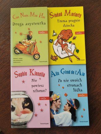 """Książki """"Druga asystentka"""", """" Emma pragnie dziecka"""", """"Nie powiesz niko"""