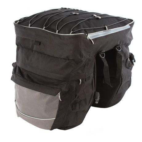 sakwa rowerowa 3 komorowa torba bagażnik f70