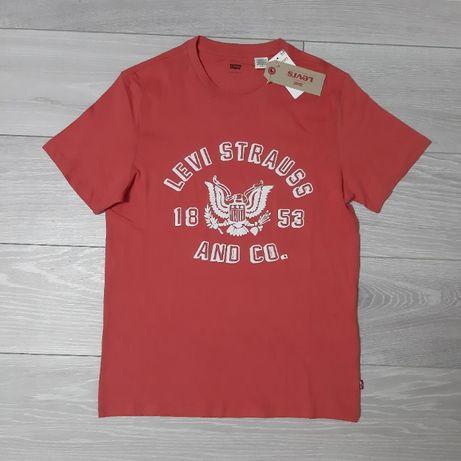 Оригинальная футболка Levis, размер S