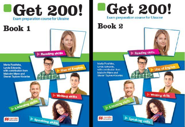 PDF Get 200 Book 1,2 ответы,аудио,тесты,Exam companion. Подготовка ЗНО