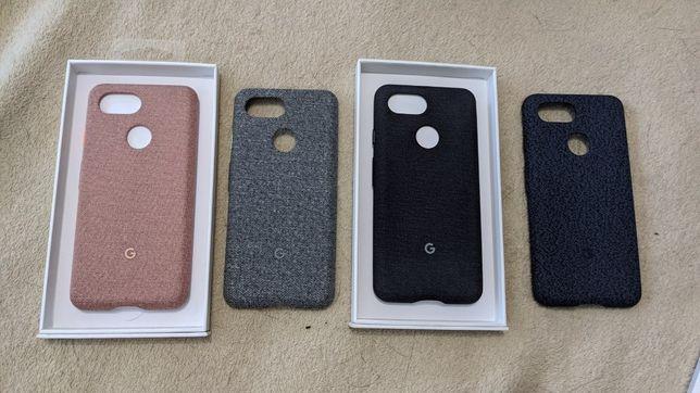 Новый оригинальный чехло Google Pixel 3 Fabric Case , тканевые