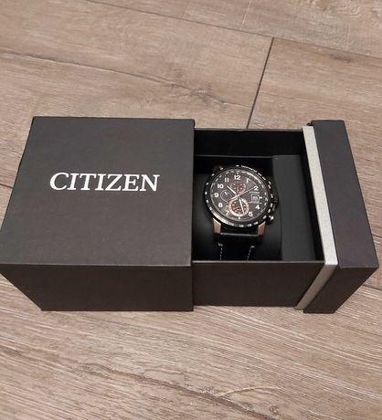 Zegarek diver Citizen Eco Drive pudełko pasek skórzany