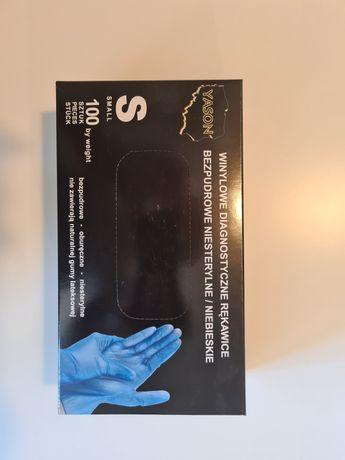 Rękawiczki Winylowe Diagnostyczne Rozmiar M
