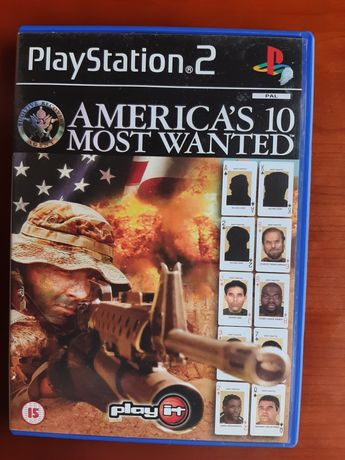 America's 10 Most Wanted playstation 2