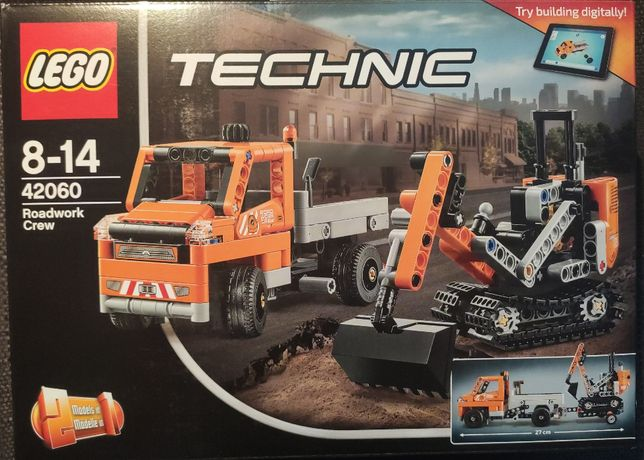 Nowe LEGO Technic Ekipa robót drogowych 42060