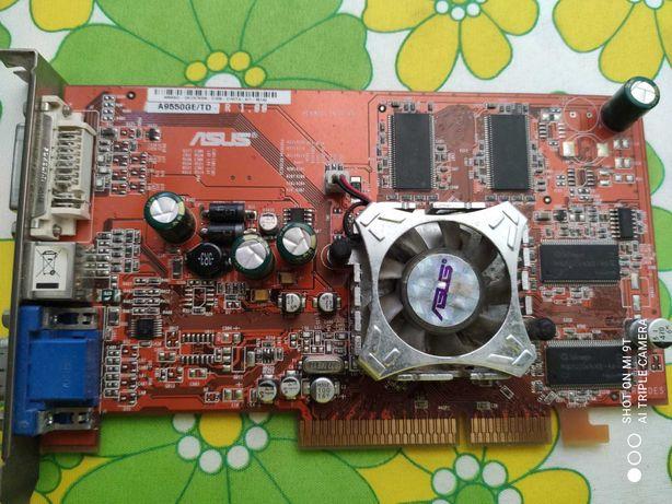 Placa Gráfica ASUS A9550/TD 128MB