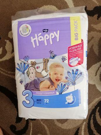 Подгузники Happy 3