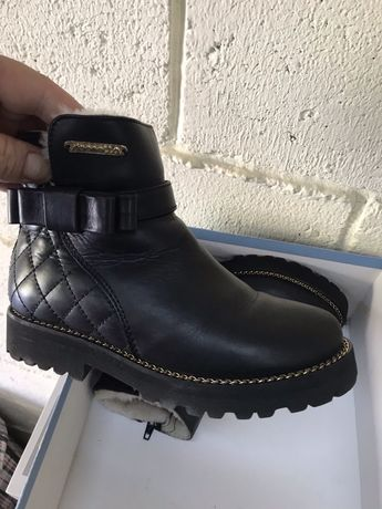 Ботинки кож децкие 30 размер