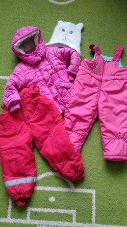 Kombinezon kurtka 92 H&M spodnie Wójcik 18-24 bdb + gratis