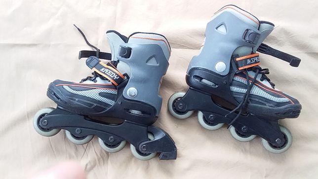 Ролики, коньки роликовые детские-регулировка размера- Speedy-37