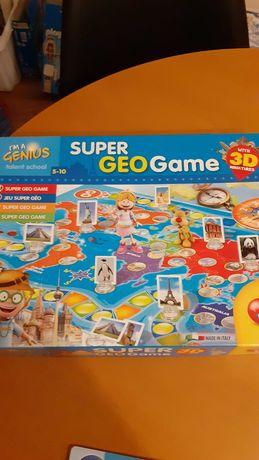 Gra edukacyjna Geo Game firmy Lisciani
