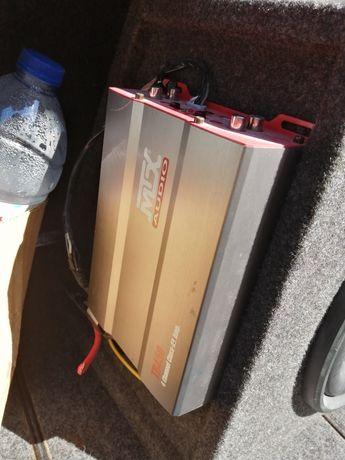 Amplificador e subuffer para carro
