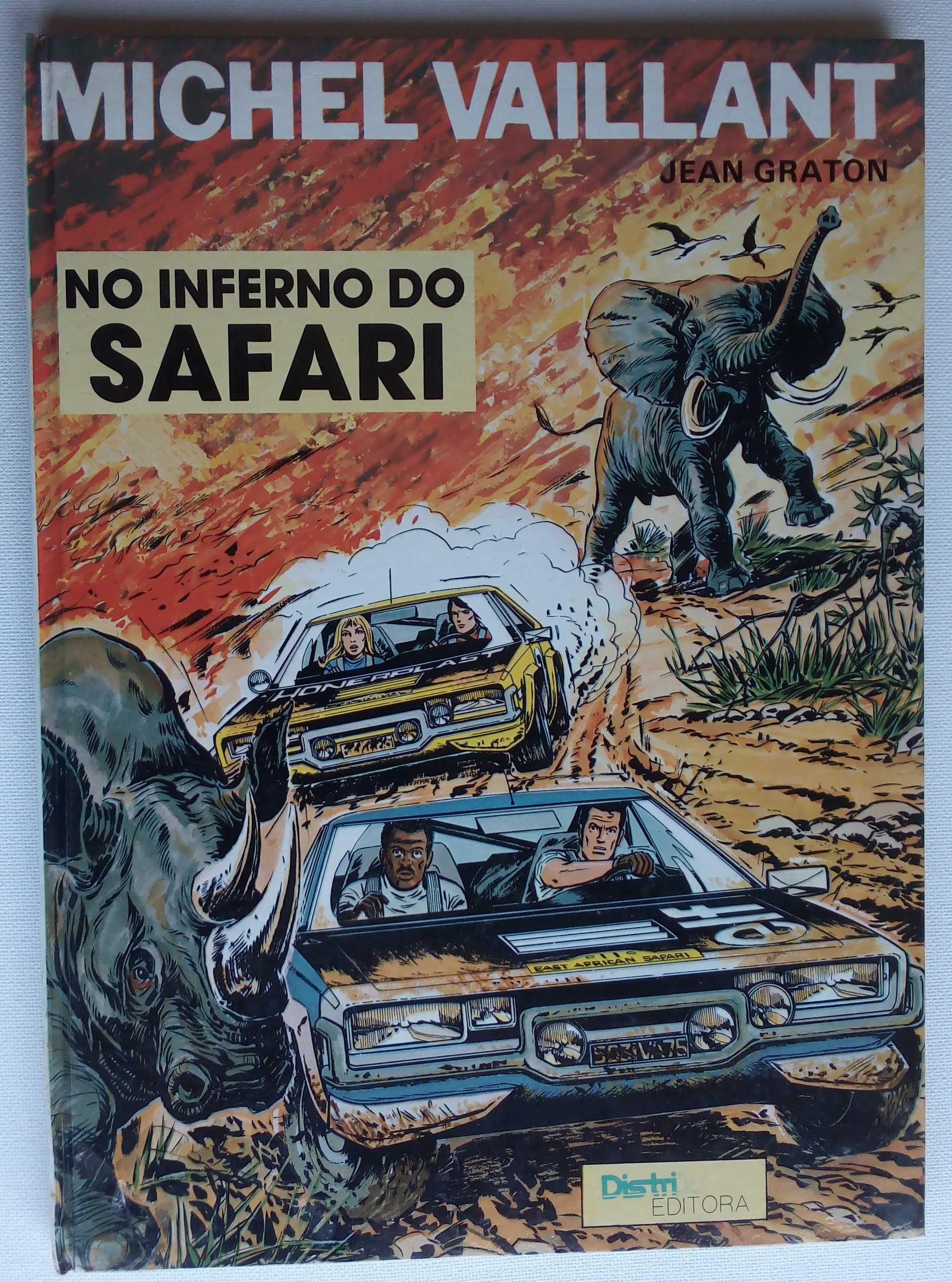 michel vaillant no inferno do safari / jean graton