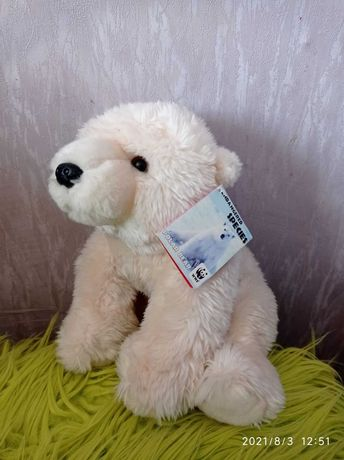 Игрушки WWF Медведь белый.