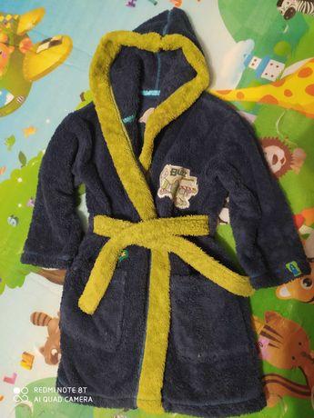 Дитячий махровий халат (2-5 років)