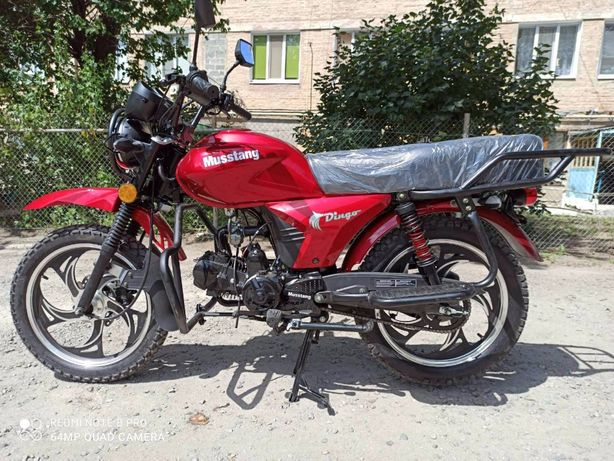 Мопед Musstang Dingo 125 cc 2021 г. в.
