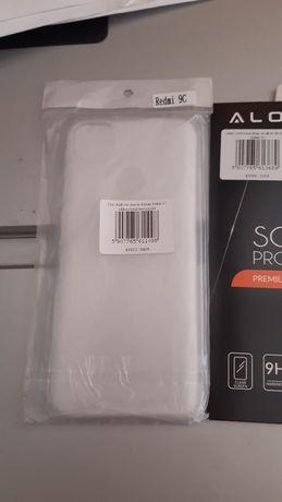 Etui Xiaomi 9c plus szkło