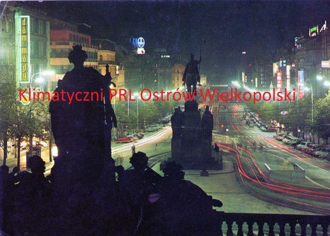 Pocztówka Praha Praga Czechy wysłana do Kalisza znaczek 1984r