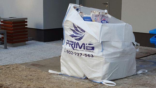 Wywoz gruzu Big Bag na gruz odpady poremontowe SZYBKO BDO