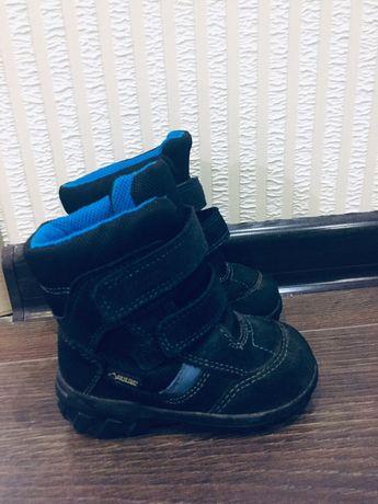 Зимние ботинки ecco 20 размер 13 см goretex мембранные сапоги черевики