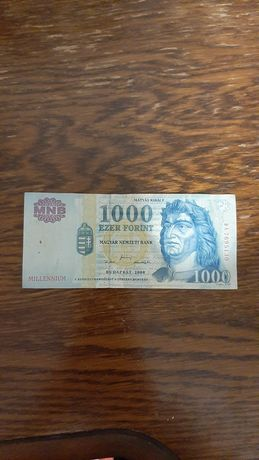 Венгрия 1000 форинтов 2000 Миллениум