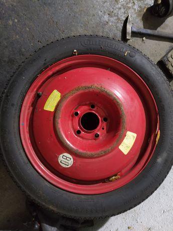 Peugeot 407 koło dojazdowe 17