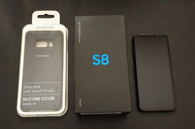 Samsung Galaxy S8 4Gb / 64Gb - Preto - COMO NOVO