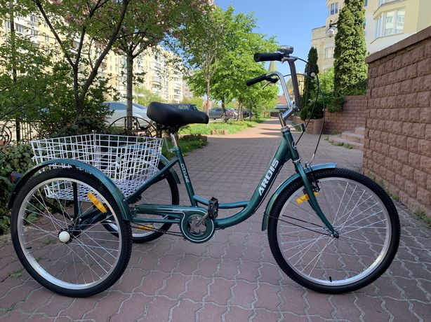 """Трехколесный грузовой велосипед Ardis City Line 24"""""""