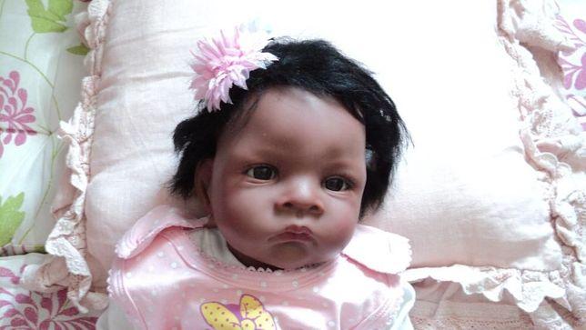 Lindo Bebé Reborn com cabelo