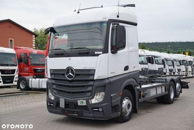Mercedes-Benz Actros 2542 / E 6 / 6x2 / Rama Bdf 7.20 M / Pod