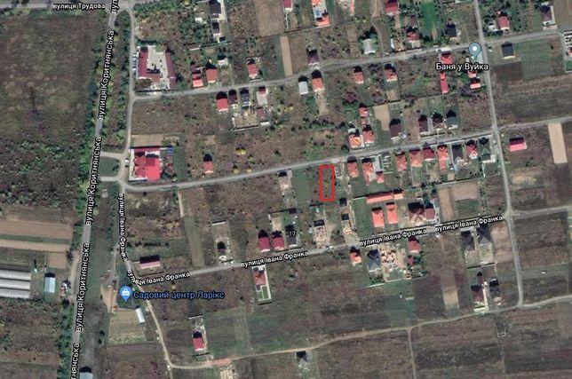 Земельна ділянка Ужгород Баранинцы Табла 2 Чорновола 9 соток