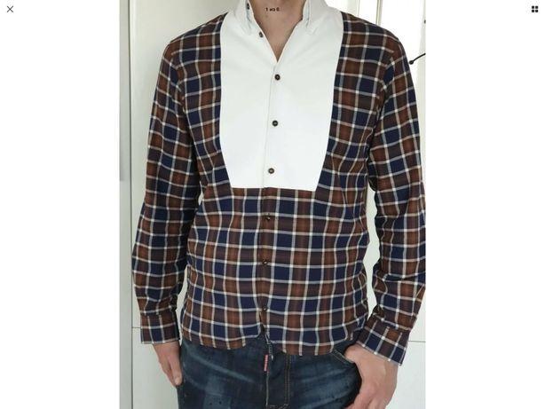100% Оригинальная рубашка Dsquared, М-Л