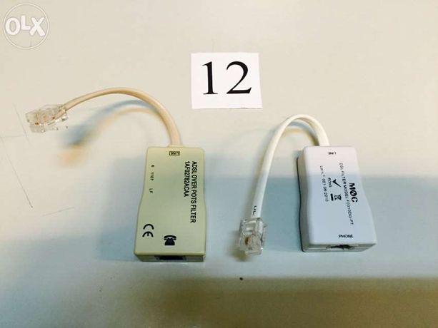 Filtro ADSL telefone telefónico (ofereço portes)