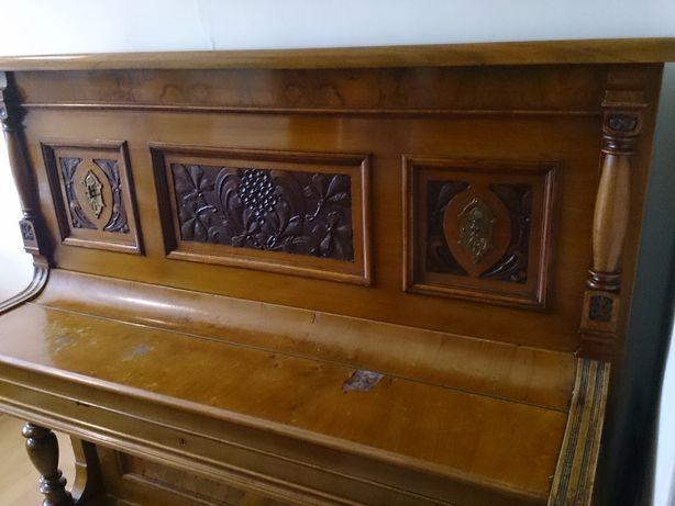 zabytkowe piękne niemieckie pianino - sprawne