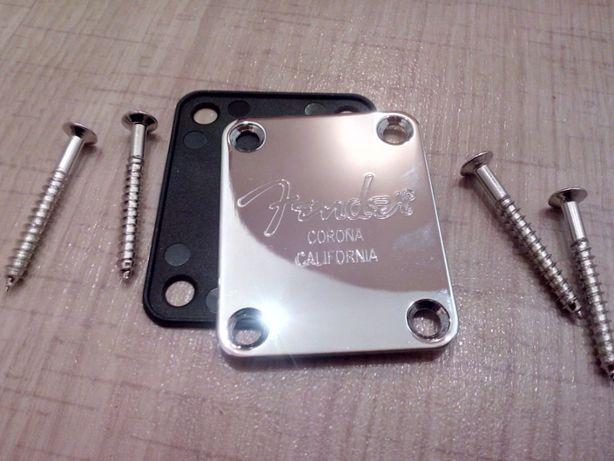 Некплейт крепление для грифа электрогитара Fender Telecaster Stratocas