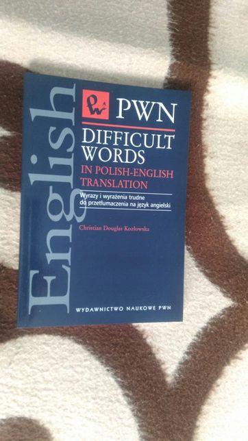 Difficult words in polish-english translation PWN