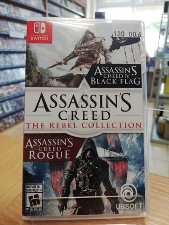 Switch Assassins Creed The Rebel Collection PL Black Flag + Rogue