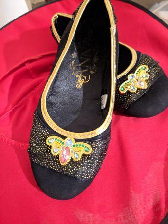 Туфли Анны 20,8-21 см по стельке холодное сердце Frozen