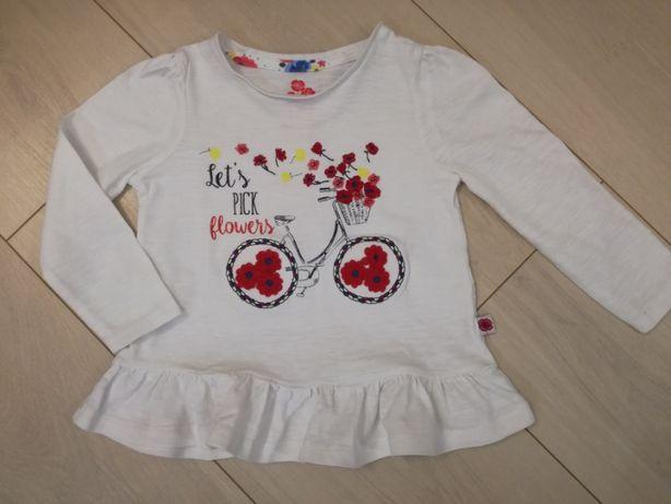 bluzka / koszulka na długi rękaw 80-86 cm
