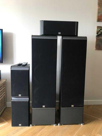 Zestaw kolumn JBL ES kino domowe, stereo kolumny  5.1