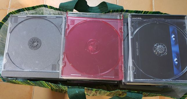 200 Caixas CD's