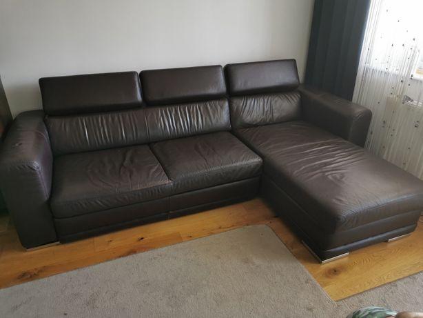 Narożnik skórzany New Design Etap Sofa 265x180