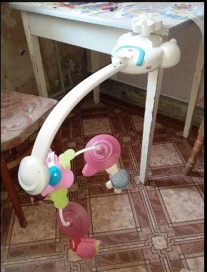 Детская подвесная игрушка для кроватки