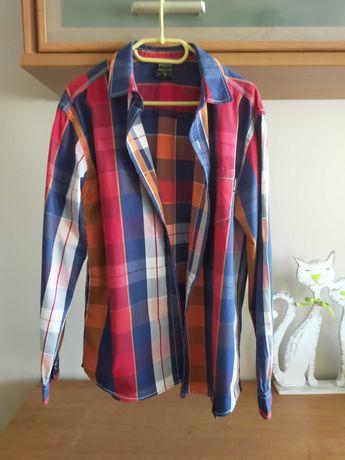Młodzieżowe 2 koszule + 2 koszulki ( rozm. ok. 170-176)