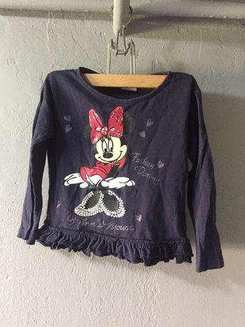 Bluzka 98 Minnie Mouse disney bawełniana myszka miki