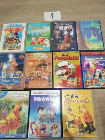 płyty dvd bajki używane